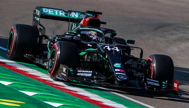 GP dell'Emilia Romagna - Lewis Hamilton