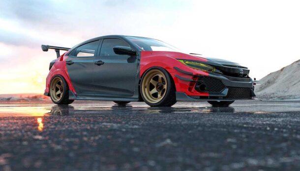 Honda Civic Type R by Abimelec Design