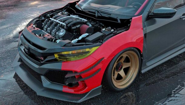 Honda Civic Type R by Abimelec Design