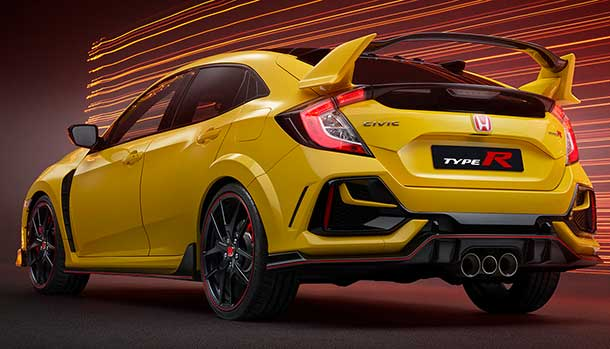 Honda Civic Type R Limited Edition Serial Plate 001