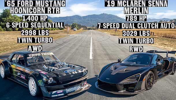 Hoonicorn V2 vs McLaren Senna