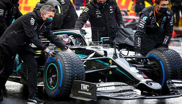 Lewis Hamilton Campione del Mondo F1 2020