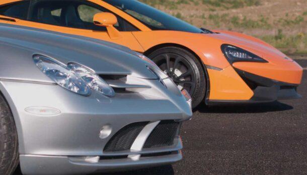 McLaren SLR vs McLaren 540C