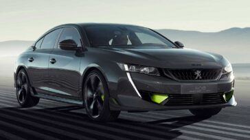 Peugeot 508 Sport Engineered 2020