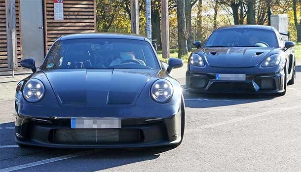 Porsche 911 GT3 992 - Cayman GT4 RS