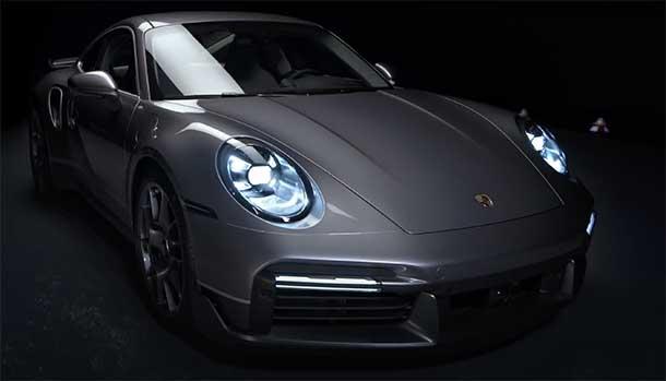 Porsche 911 Turbo S Duet