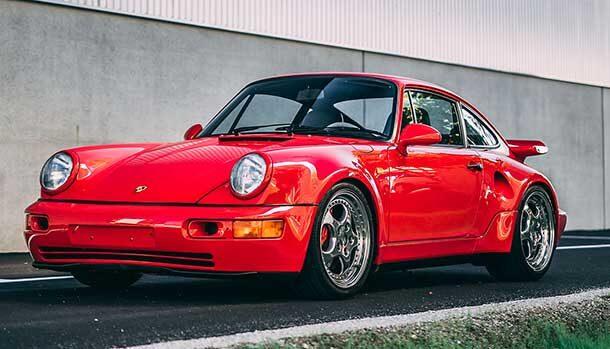 Porsche 911 Turbo S Lightweight
