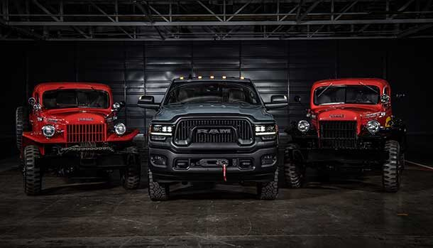 Ram Power Wagon 75th Anniversary Edition 2021