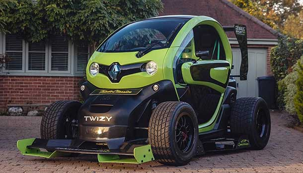 Renault Twizy F1 Racing by Oakley Design