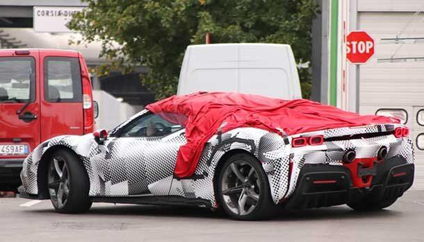 Ferrari SF90 Stradale Spider