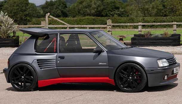 Peugeot 205 Turbo 16 kit Dimme