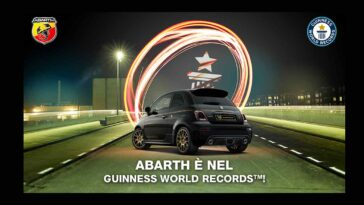 Abarth Digital Day 2020 - Guinness World Records