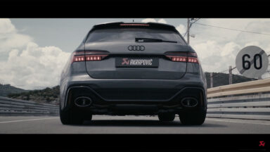 Akrapovic Evolution Line Audi RS6 Avant 2021