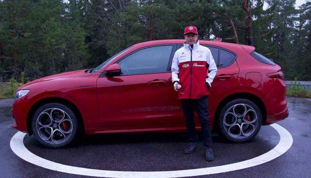 Alfa Romeo Stelvio Veloce - Kimi Raikkonen