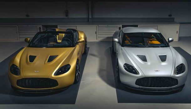 Aston Martin V12 Zagato Heritage Twins Models