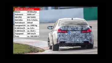 BMW M5 CS 2021 - Lausitzring