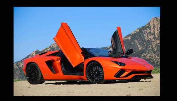 Benjamin Mendy - Lamborghini Aventador...