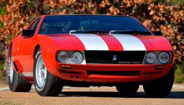 De Tomaso Mangusta Shelby MkV Prototype 1969