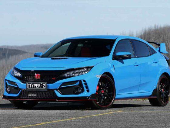 Honda Civic Type R 2021 Racing Blue