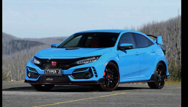 Honda Civic Type R 2021 Racing Blue