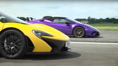 Lamborghini Huracan Performante vs McLaren P1