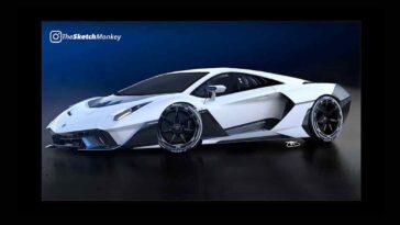 Lamborghini SC20 by TheSketchMonkey