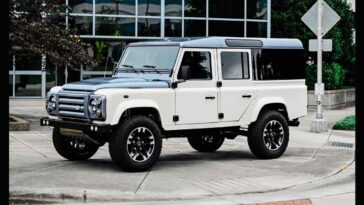 Land Rover Defender 110 by Osprey Custom Cars