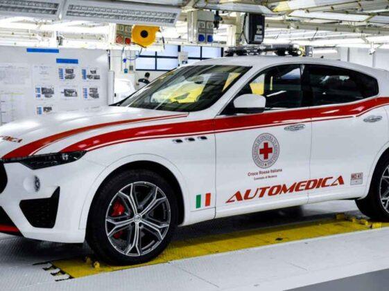 Maserati Levante Croce Rossa