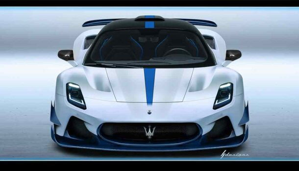 Maserati MC20 Aria