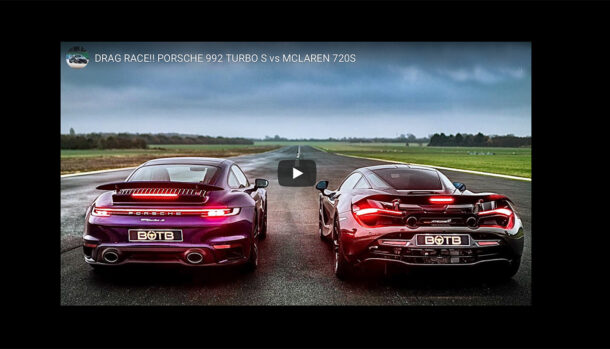 McLaren 720S vs Porsche 911 Turbo S