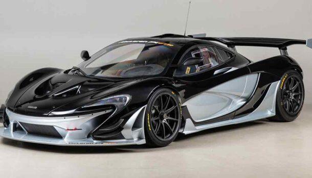 McLaren P1 GTR Factory Track Package