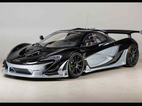 McLaren P1 GTR Factory Track Package