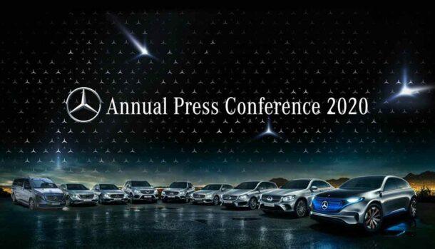 Mercedes-Benz Italia - Annual Press Conference 2020