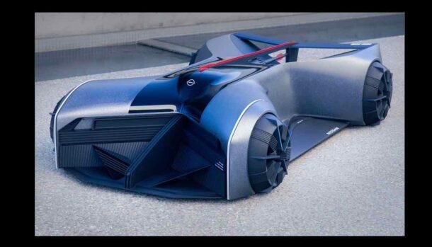 Nissan GT-R X 2050 Concept by JB Choi