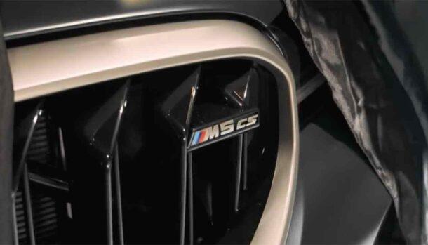 Nuova BMW M5 CS