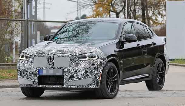 Nuova BMW X4 M 2021