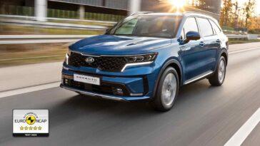 Nuovo Kia Sorento - Test Euro NCAP