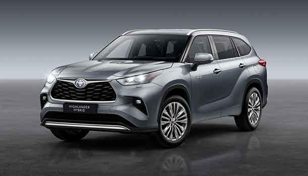 Nuovo Toyota Highlander Full Hybrid Electric