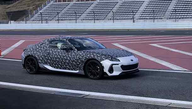 Subaru BRZ 2022 High-Performance