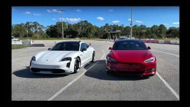 Tesla Model S Performance vs Porsche Taycan Turbo S