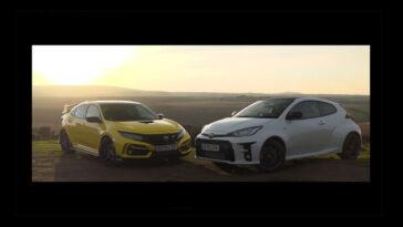 Toyota GR Yaris vs Honda Civic Type R