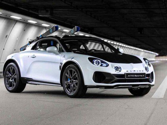 Alpine A110 Sport-X