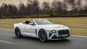 Bentley Mulliner Bacalar Car Zero Prototype