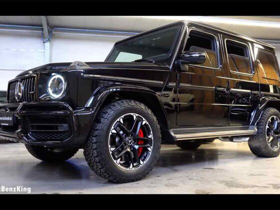 AMG G 63 by Armored Guard