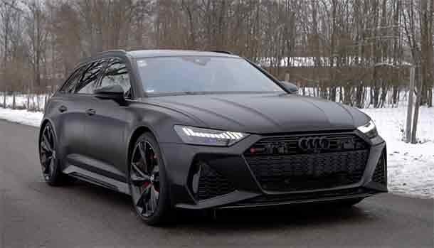 Audi RS6 Avant 2021 by ABT Sportsline