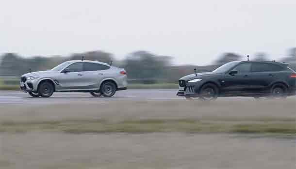 BMW X6 M Competition vs Jaguar F-Pace SVR