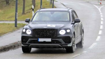 Bentley Bentayga LWB restyling