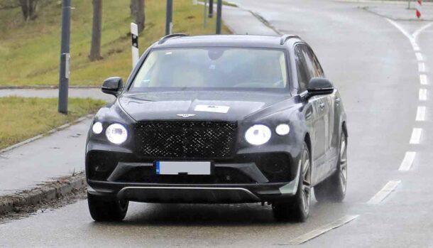 Bentley Bentayga LWB restyling