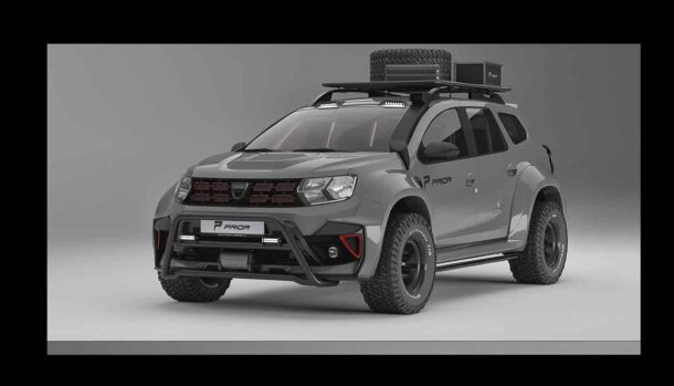 Dacia Duster by Prior Design