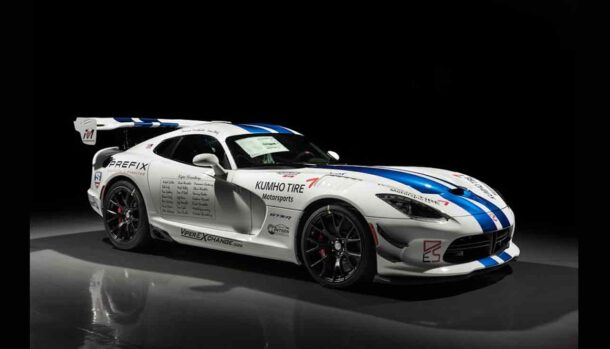 Dodge Viper GTS-R Nurburgring Commemorative Edition